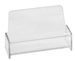 Business Card Holder - Clear Acrylic