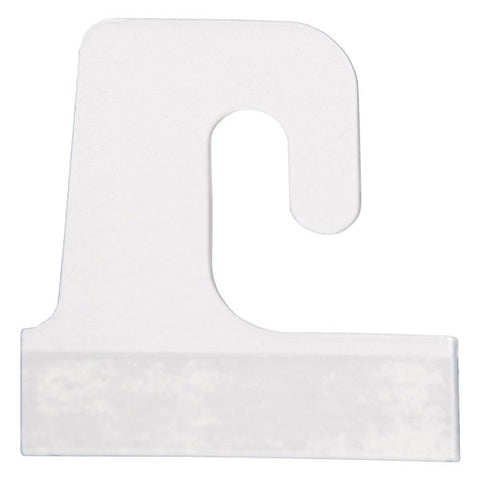 Merchandise Hang Tab - J-Hook Style - Clear - (100/Pack)