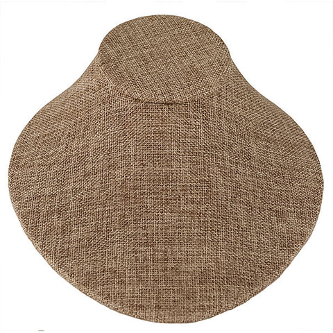 Lay Down Bust Form - Burlap