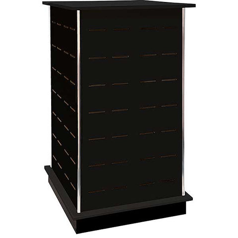 "Large Shoe Tower 28 1/2 w x 24"" d x 54"" h."