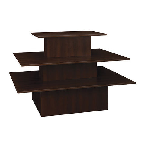 Table - 3-Tier - Chocolate Cherry - Rectangle