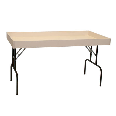 Table - Dump - Folding Black Legs