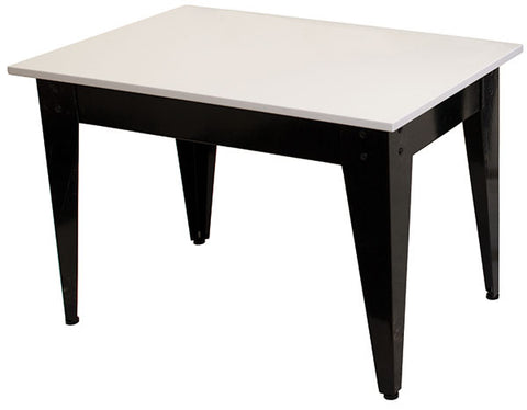 Nesting Table - Black Legs with White Top