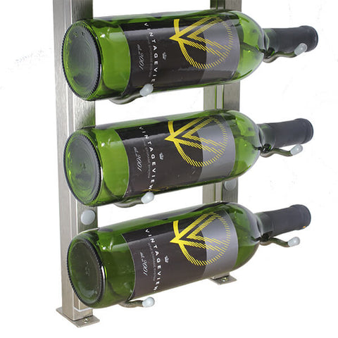 W Series Wine Rack Frame Hidden Base Plate