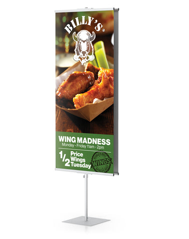 GCO GripGraphic Banner Stands