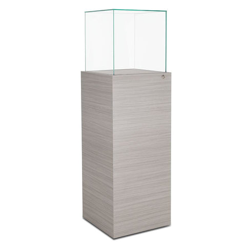 Stylish Lift-off Top Pedestal Display