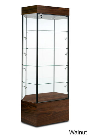 Stretched Hexagonal Retail Display Case