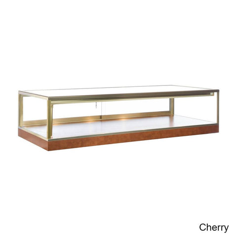 Upscale Wood Tabletop Display Case
