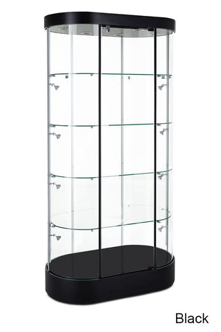 Fashionable Curved Tower Showcase