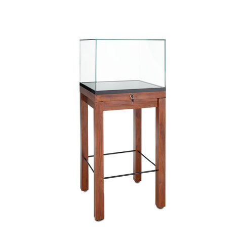 Museum Quality Display Cases with Locking Pullout Deck