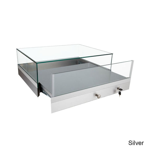Upscale Countertop Display Case Includes a Pullout Deck