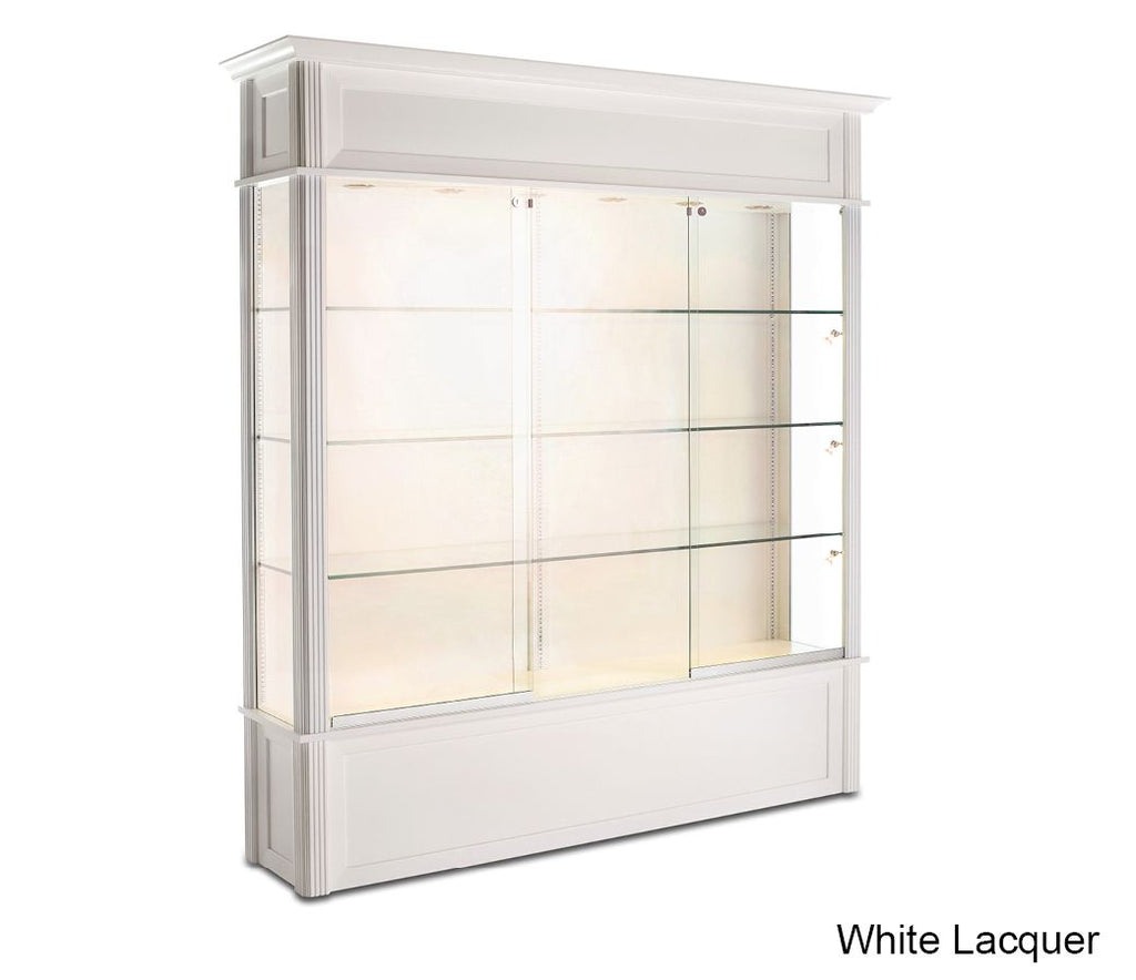 Miraculous Classic Wooden Floor Display Case With 3 8 Thick Glass Home Interior And Landscaping Ferensignezvosmurscom