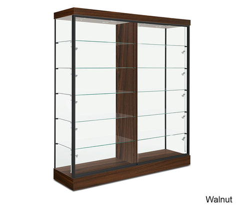 Large Trophy Glass Display Cabinet with Ten Fully Adjustable Shelves