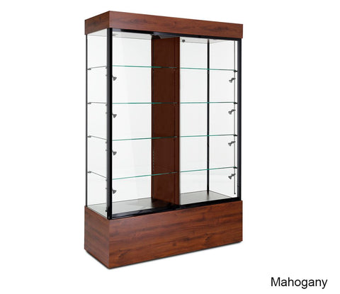 Enduring Collectible Floor Display Case with Ten Shelves