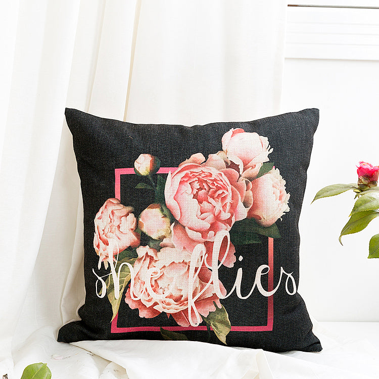 Beatrice Throw Pillow Cover