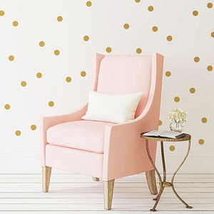 Ella Polka Dot Vinyl Wall Decal