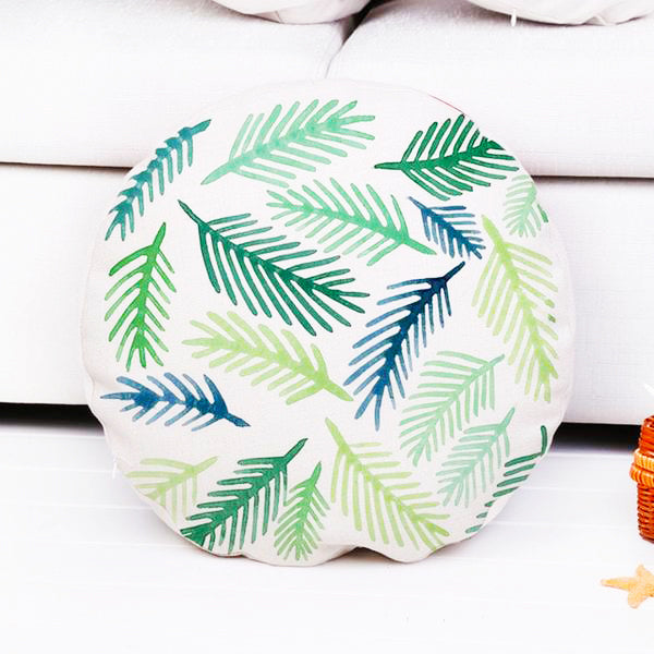 Tropical Round Cushion Cover