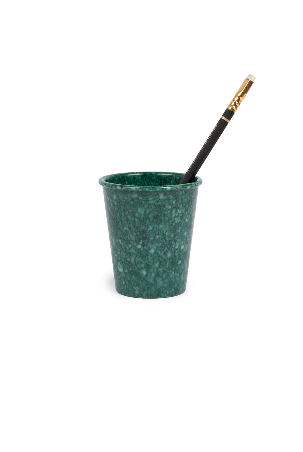 Hightide - Melamine Pen Pot - Dark Green