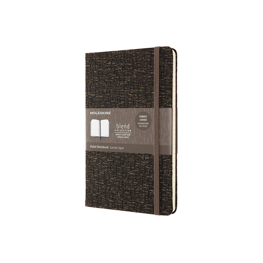 Moleskine - Blend FW19 Hard Cover Notebook - Ruled - Large - Brown