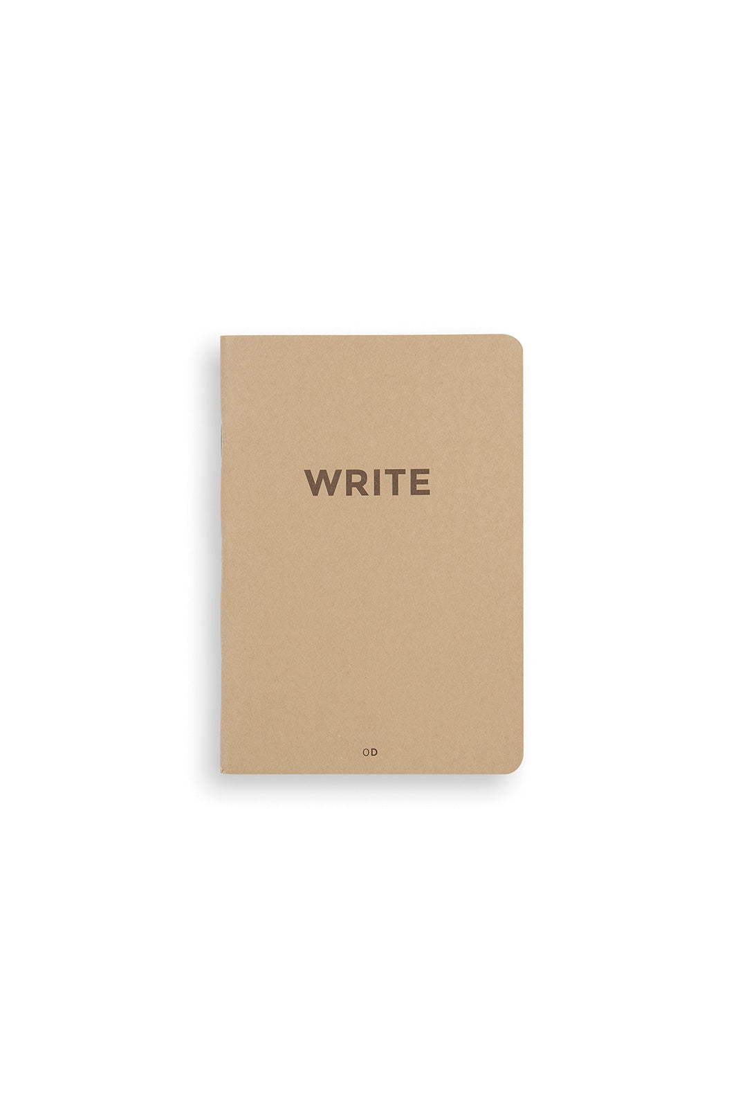 Octagon - Write Mini Notebook - Ruled - A6 - Kraft