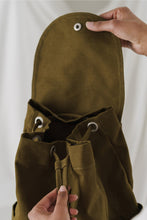 Load image into Gallery viewer, Baggu - Drawstring Backpack - Kelp