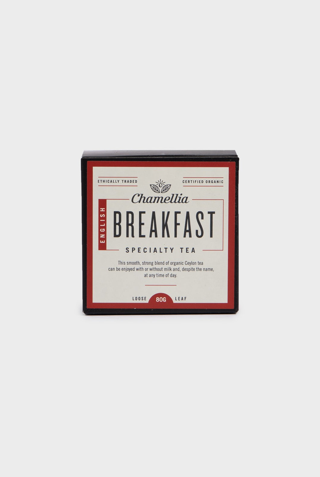 Chamellia - Loose Leaf Tea - English Breakfast - 80g