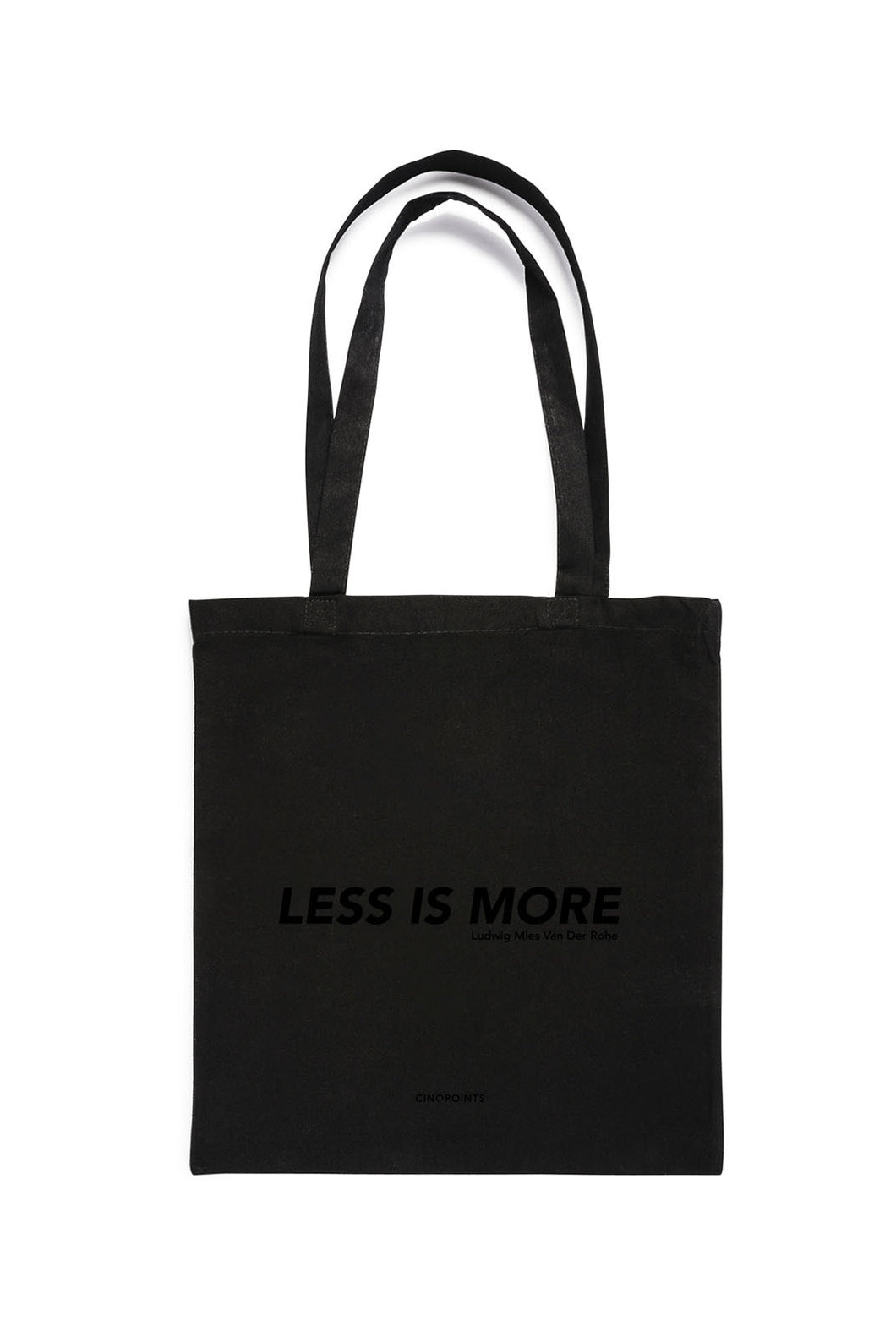 Cinqpoints - Tote Bag - Less is More