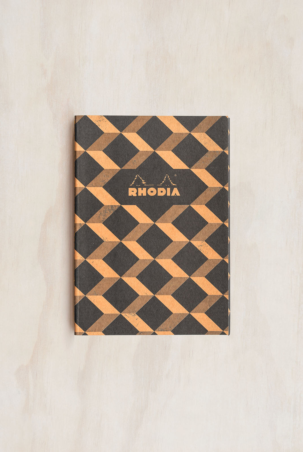 Rhodia - Heritage Notebook - Sewn Spine - Ruled - A5 (15x21cm) - Escher Black