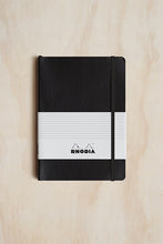 Load image into Gallery viewer, Rhodia Professional Notebook - Ruled - A5 (15x21cm) - Soft Cover - Black