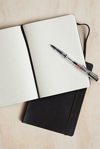 Rhodia Professional Notebook - Ruled - A5 (15x21cm) - Soft Cover - Black
