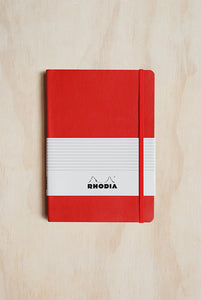 Rhodia Professional Notebook - Ruled - A5 (15x21cm) - Soft Cover - Red