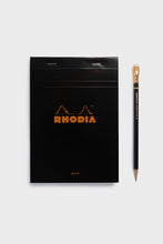 Load image into Gallery viewer, Rhodia - Pad #16 - Top Stapled - 5x5 Grid - A5 - Black
