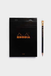 Rhodia - Pad #16 - Top Stapled - 5x5 Grid - A5 - Black