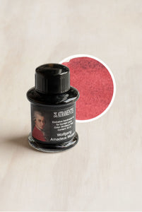 De Atramentis - People Edition Ink - Bottled - 35ml - Wolfgang Amadeus Mozart - Bordeaux Red