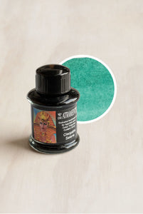 De Atramentis - People Edition Ink - Bottled - 35ml - Cleopatra Selene - Turquoise