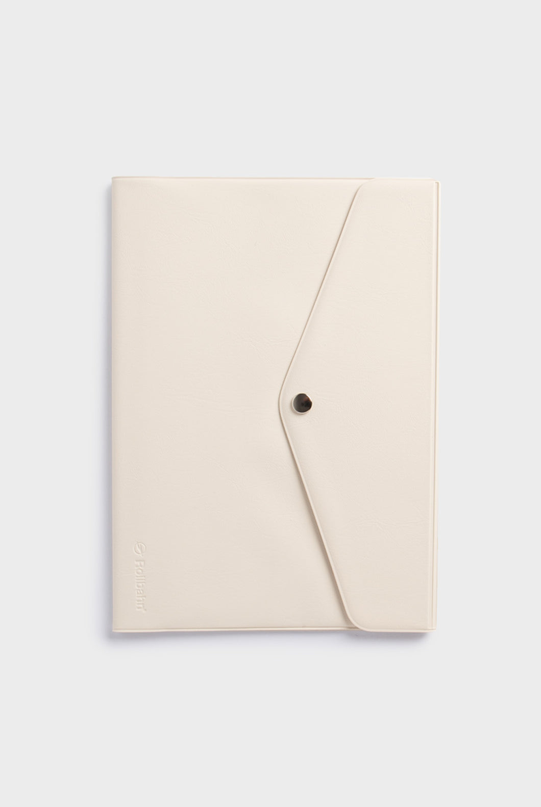 Delfonics - Rollbahn Notebook Cover with Flap - A5 - Cream