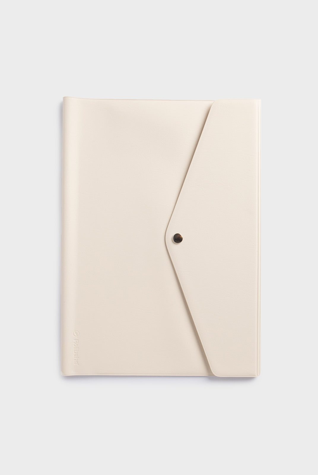 Delfonics - Rollbahn Notebook Cover with Flap - B5 - Cream