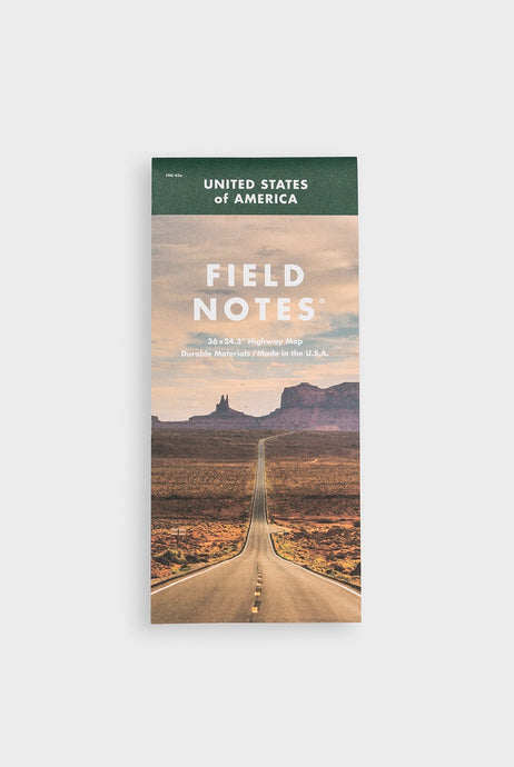 Field Notes - Limited Edition National Highway Map - Multicolour