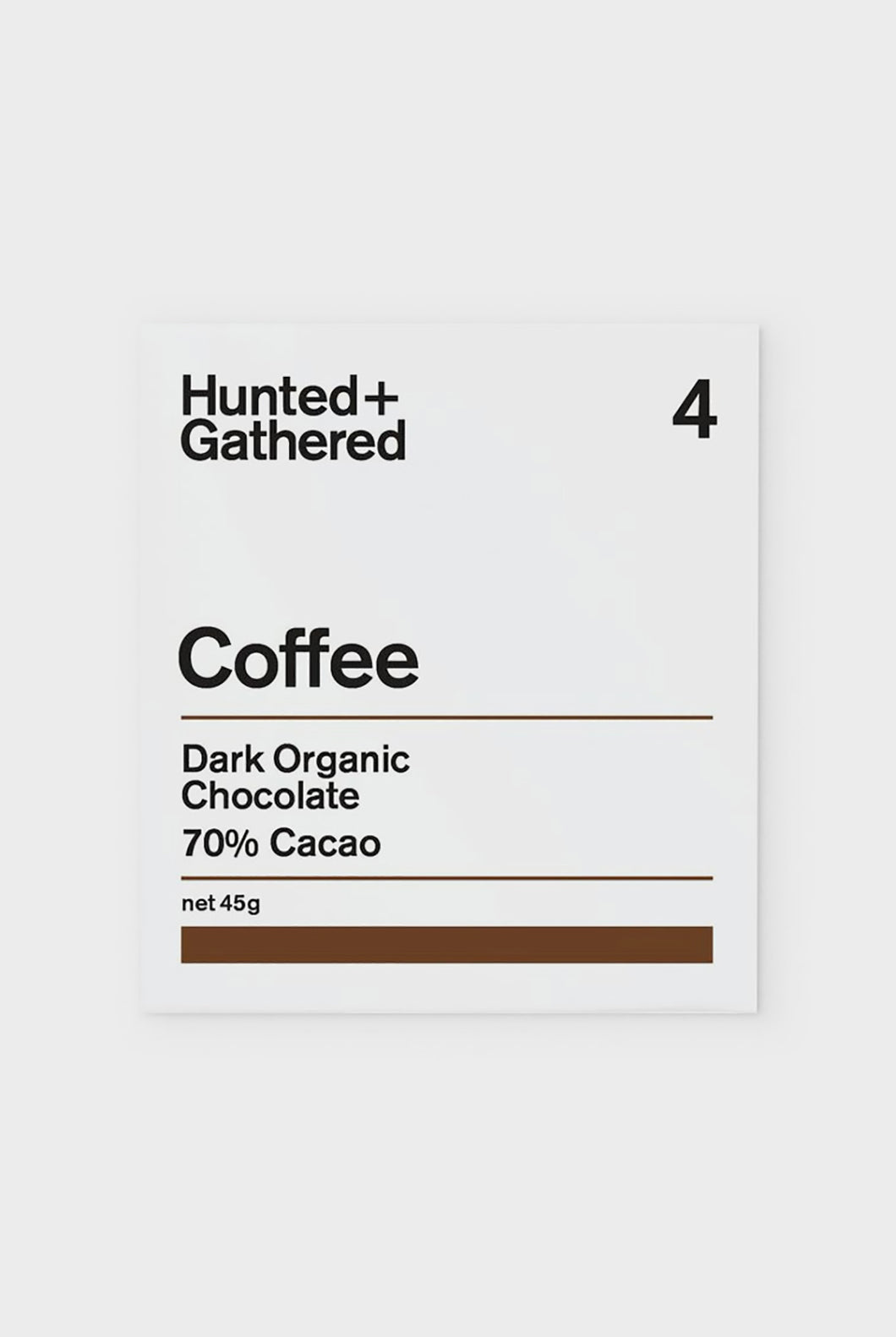 Hunted + Gathered - Coffee 70% Dark Chocolate