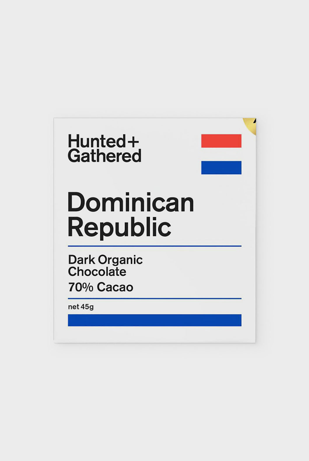 Hunted + Gathered - Dominican 70% Dark Chocolate