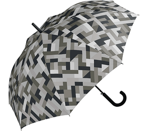 WPC - Basic Jump Umbrella - Geometric Grey