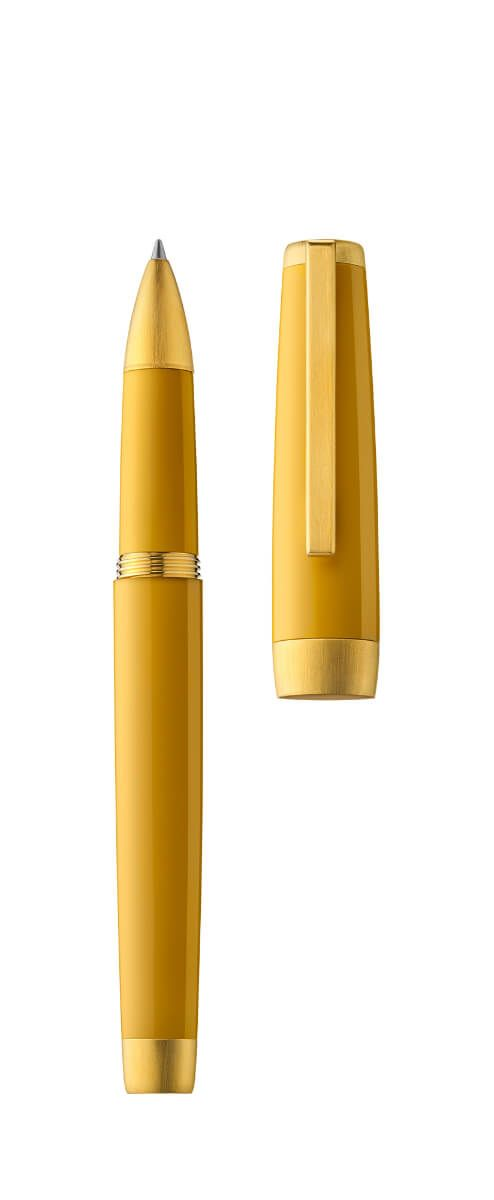 Jacques Herbin - Resin Rollerball Pen - Amber