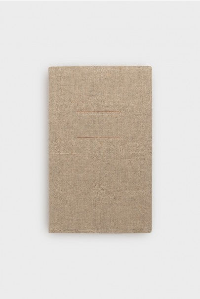Kami Berlin - Linen Notebook - Plain - A5 - Natural