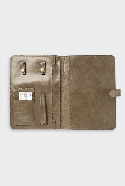Katie Leamon - HiDE Leather Personal Organiser - Dark Brown