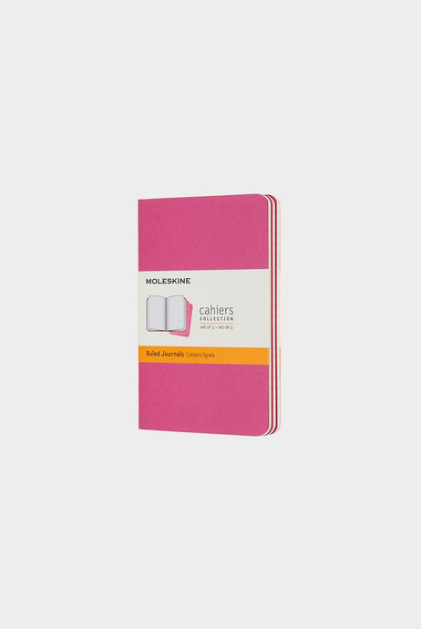 Moleskine - Cahier Journals - Ruled - Pocket - Kinetic Pink