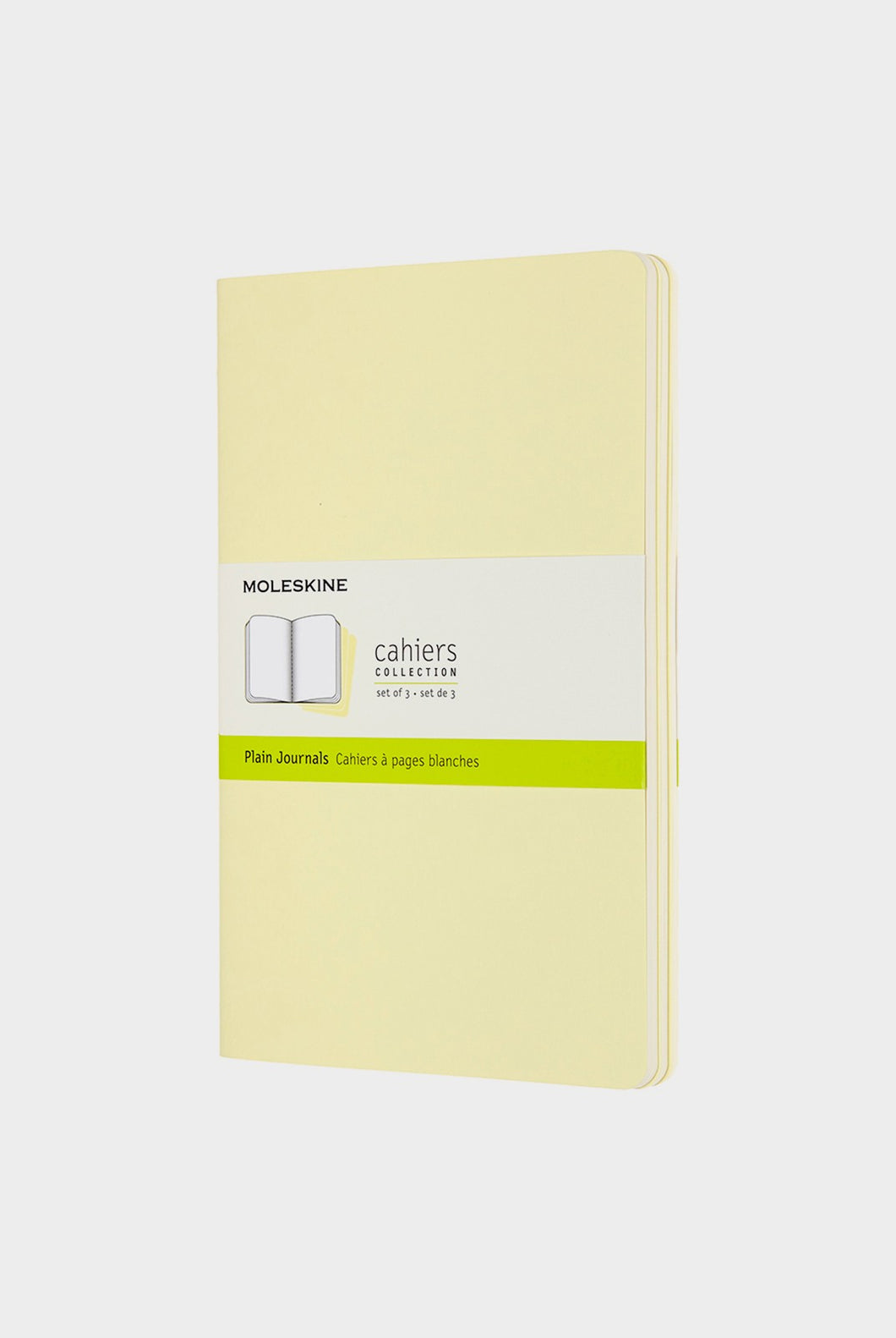 Moleskine - Cahier Journals - Plain - Large - Tender Yellow