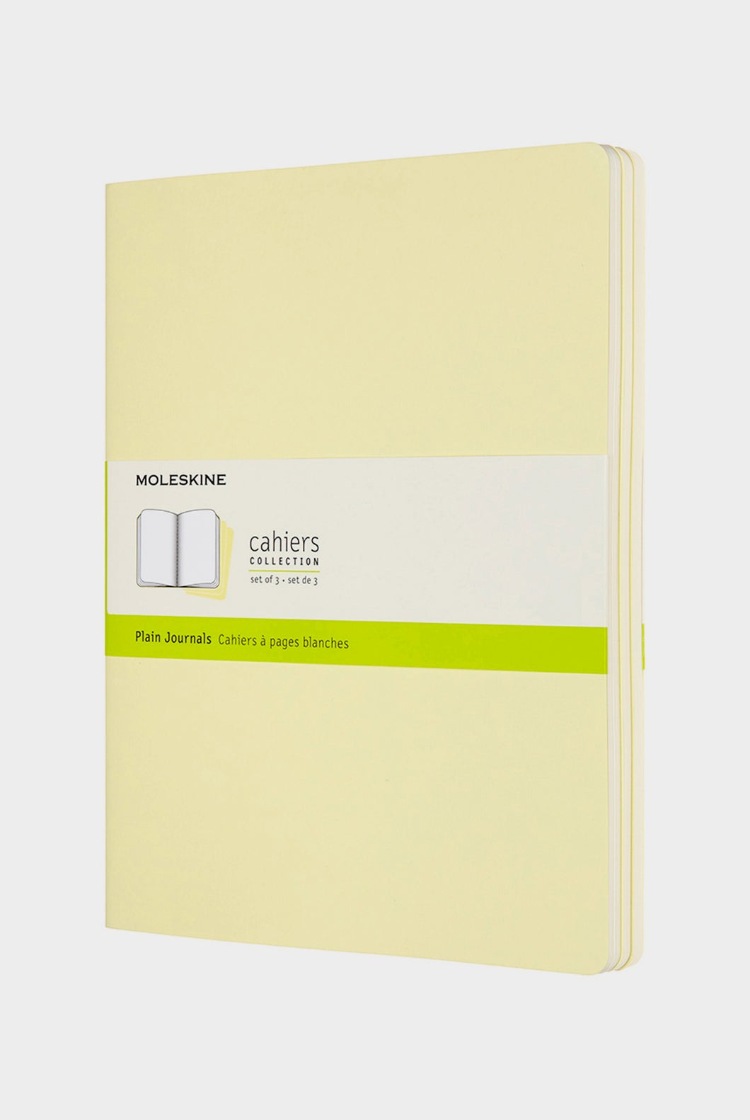 Moleskine - Cahier Journals - Plain - Extra Large - Tender Yellow