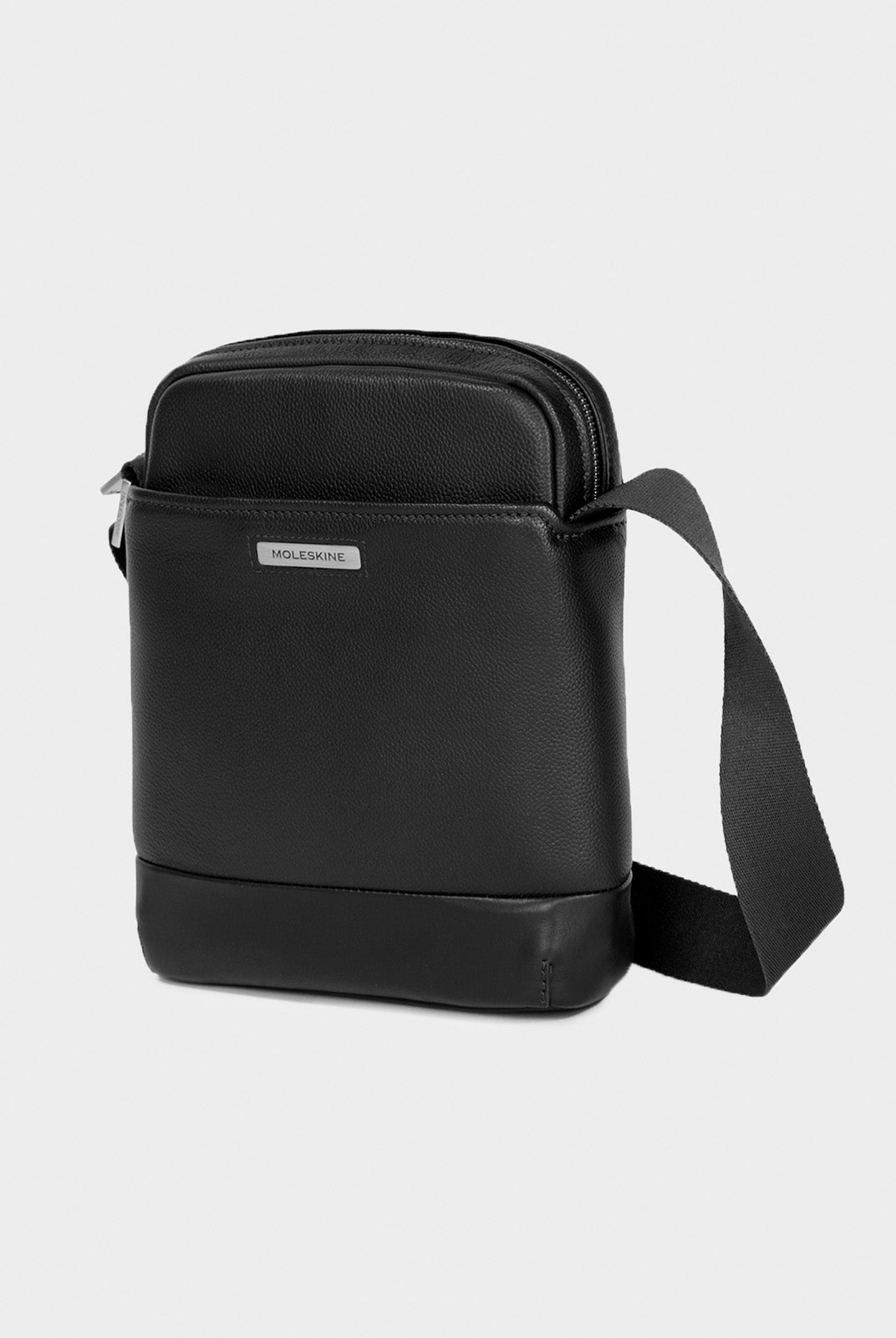 Moleskine - Match Leather Crossover Bag - Black