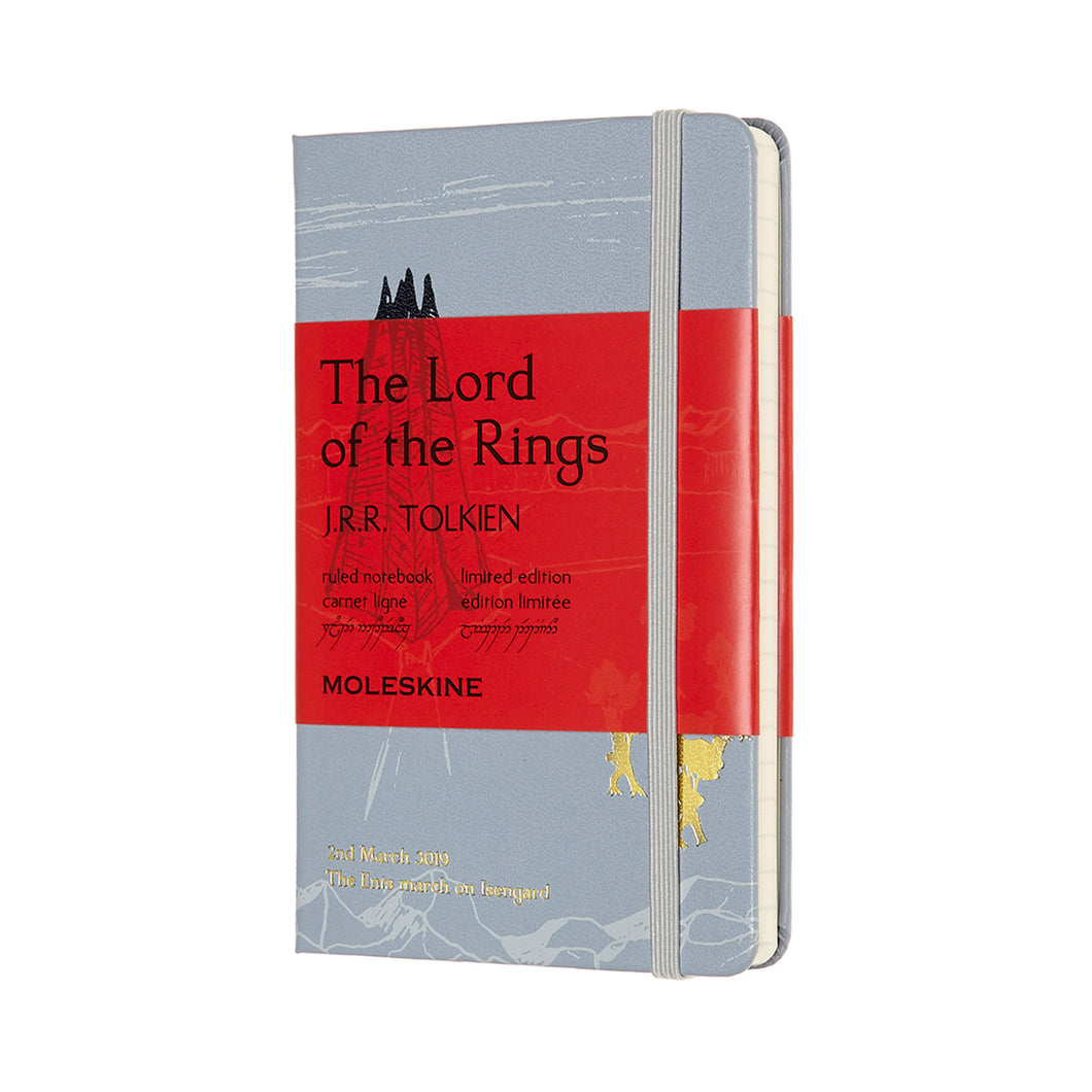 Moleskine - Limited Edition - Lord Of The Rings Notebook - Ruled - Pocket - Isengard