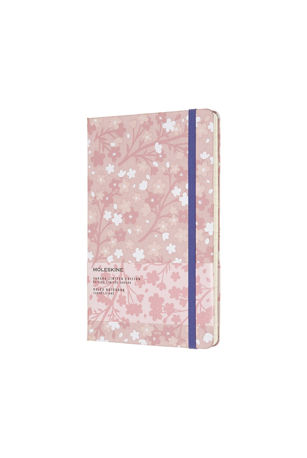Moleskine - Limited Edition - Sakura Notebook - Ruled - Large (13 x 21cm) - Hard Cover - Oriental Silk Pink
